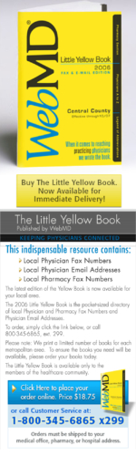 WebMD Little Yellow Book Email