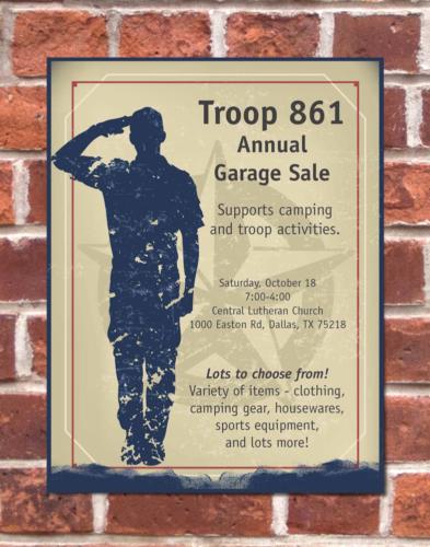 BSA Troop 861 Flyer