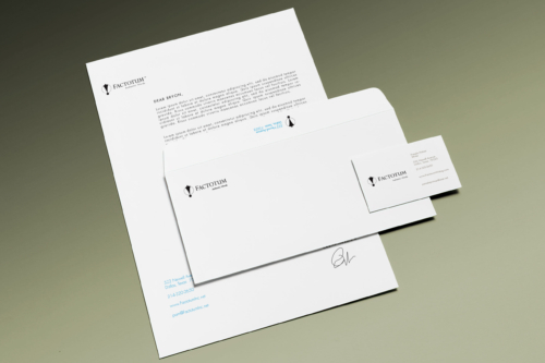 Factotum Authentic Words stationary